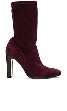 Lizzy Bootie in Wine