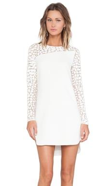 Sachin + Babi Illusion Dress in Ivory