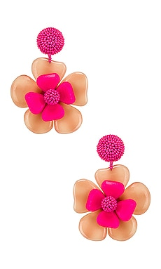 Horn Flower Earrings Sachin & Babi $178