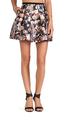 Sachin & Babi Circle Skirt in Romantic Floral Print