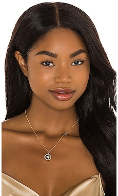 Diamond Cut Rolo Chain with Diamond Star Pendant Sachi $979