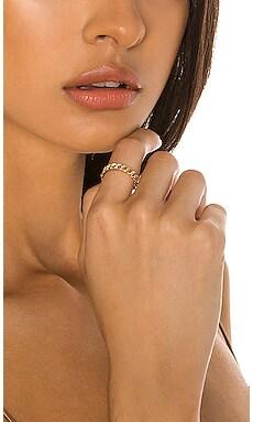 Chain Pave Diamond Ring Sachi $649