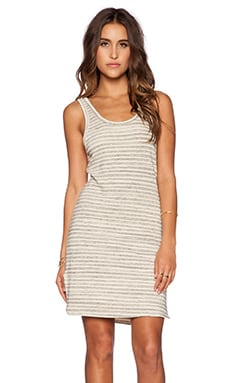 Saint Grace Bonita Mini Dress in Cream Stripe