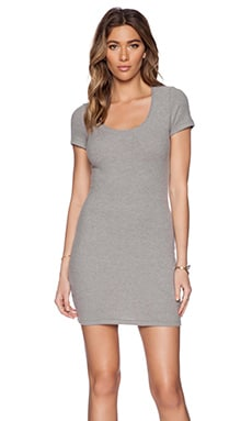 Saint Grace Clover Mini Dress in Heather