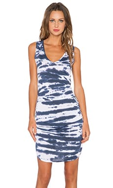 Saint Grace Vesper Mini Dress in Liberty Tiger Wash