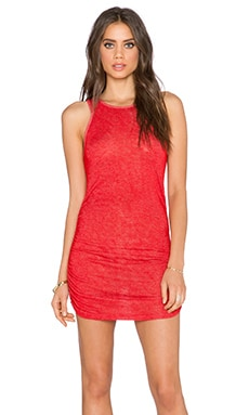 Saint Grace Holly Muscle Dress in Race