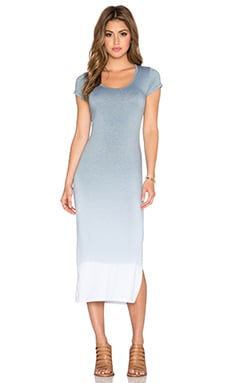 Saint Grace Tilly Midi Dress in Iron Ombre Wash