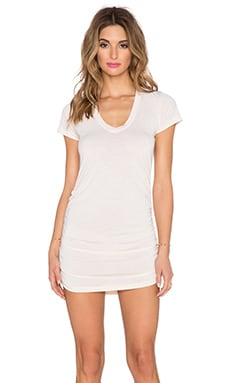 Saint Grace Cap Sleeve Dress in Pure