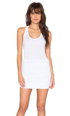 Vida Tank Dress in White