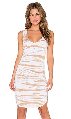 Saint Grace Vesper Mini Dress in Sahara Tiger Wash