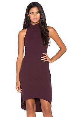 Saint Grace Kaya Dress in Merlot