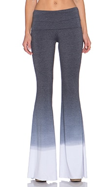Saint Grace Ashby Flare Pant in Black Ombre Wash
