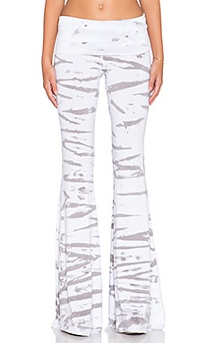 Saint Grace Ashby Flare Pant in Dove Tiger Wash
