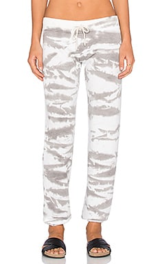 Saint Grace Sam Sweatpant in Dove Tiger Wash