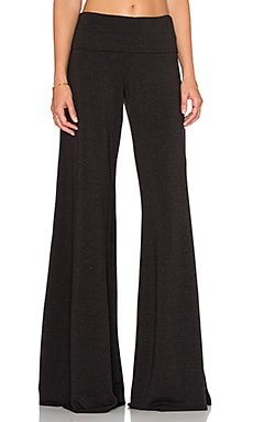 Saint Grace Carol Wide Leg Pant in Black