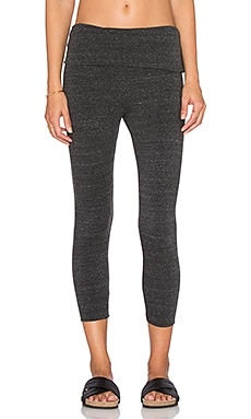 Saint Grace Cropped Legging in Black