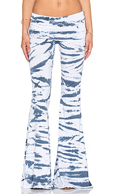 Saint Grace Ashby Flare Pant in Night Tiger Wash