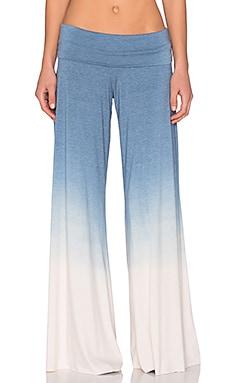 Saint Grace Carol Wide Leg Pant in Night Ombre Wash