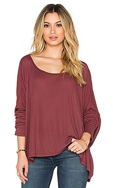 Saint Grace Omega Top in Merlot