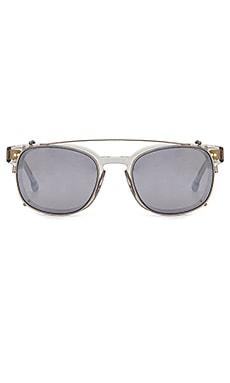 Купить Солнцезащитные очки monroe - Steven Alan, Мужские солнцезащитные очки и очковая оптика, Китай, Металлический серебряный