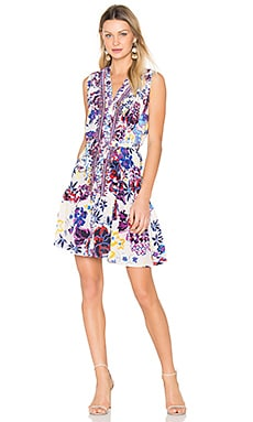 Tilly C Dress in Kaffir Bloom Placement