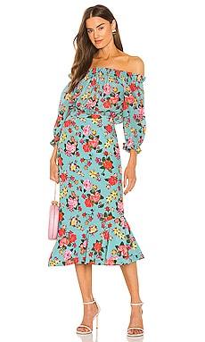 Grace Midi Dress SALONI $625