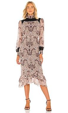 Isa Scallop Dress SALONI $695