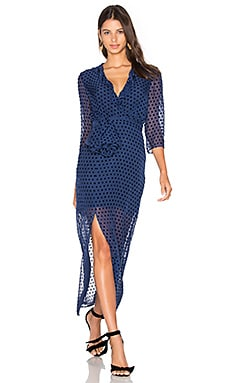 SALONI Jennifer Dress in Navy