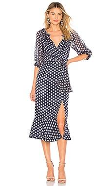 Фото - Платье olivia - SALONI синего цвета