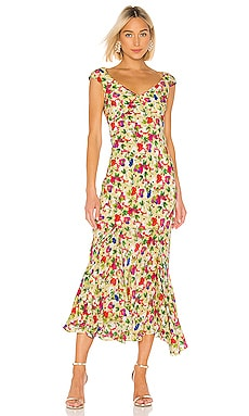 80b93602e392a SALONI Marissa Mini Dress in Black Rainbow | REVOLVE