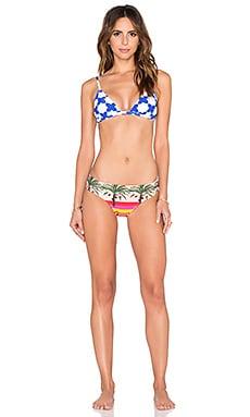 Salinas Runway Triangle Bikini Set in Multi