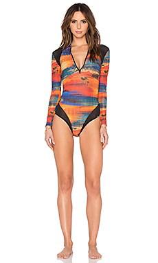 Salinas Rashguard Swimsuit in Rio