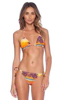 Salinas Sunset Bikini Top in Multi Print