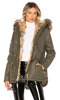 Mini Luxe Limelight Parka With Fur Lining SAM. $808
