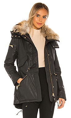 Devon Removable Fur Collar Parka SAM. $795