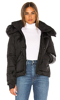 Detachable Fur Hood Jetset Puffer Jacket SAM. $795 NEW ARRIVAL