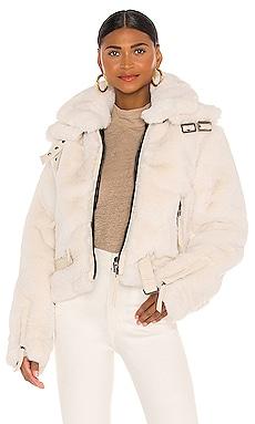 Faux Fur Penelope Jacket SAM. $795