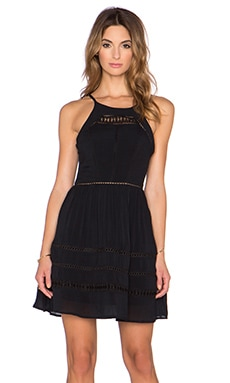 Sam Edelman Midi Dress in Black