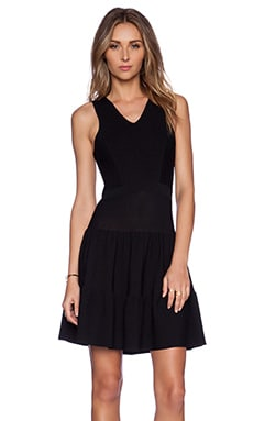 Sam Edelman Ottoman Sweater Dress in Black