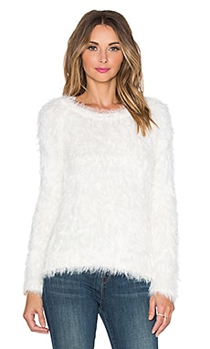 Sam Edelman Eyelash Sweater in Ivory
