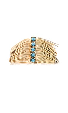 Sam Edelman Fringe Bracelet in Two Tone
