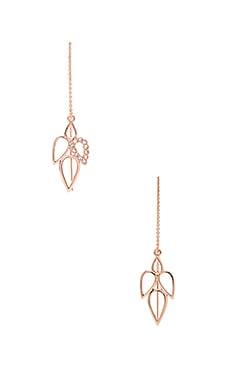 Sam Edelman Multi Tear Earring in Rose Gold