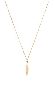 Sam Edelman Spear Pendant Necklace in Gold