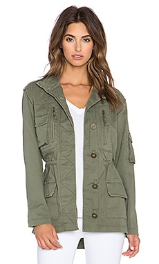 Sam Edelman Military Jacket in Forest1