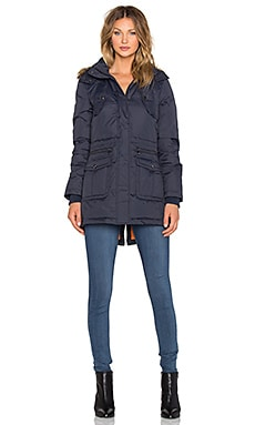 Sam Edelman Jinny Parka Jacket in Navy