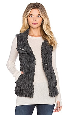 Sam Edelman Cameron Vest in Steel