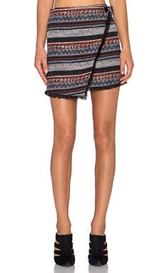 Sam Edelman Hope Stripe Skirt in Multi