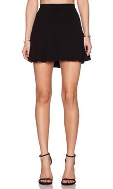 Sam Edelman Crepe Skirt in Black