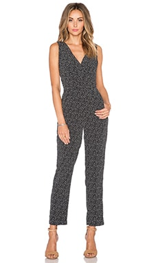 Sam Edelman The Back Wide Leg Jumpsuit in Black & White