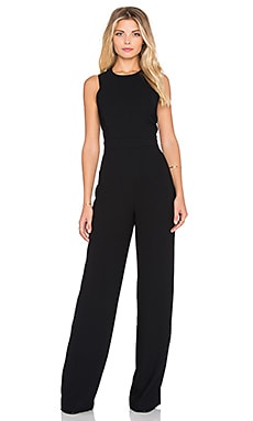Sam Edelman Angelina Halter Jumpsuit in Black